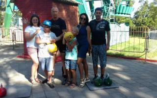 День физкультурника на Керченской набережной